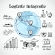 Logistic Globe Infographic - GraphicRiver Item for Sale