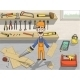 Carpenter Character at Work - GraphicRiver Item for Sale