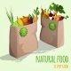 Vegetables in Bags Concept - GraphicRiver Item for Sale