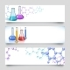 Chemical Laboratory Banners - GraphicRiver Item for Sale