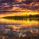 Sunset on the Loire River in France  - PhotoDune Item for Sale