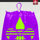 Plastic Drawstring Bag Mock-up - GraphicRiver Item for Sale