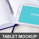 4 Tablet Mockups - White Galaxy - GraphicRiver Item for Sale