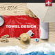 Beach Towel Mock-up - GraphicRiver Item for Sale
