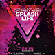 Splash Party Night Flyer - GraphicRiver Item for Sale