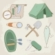 Camping Icons - GraphicRiver Item for Sale