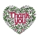 Thank You Heart Shape - GraphicRiver Item for Sale