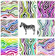 Colorful Zebra Pattern - GraphicRiver Item for Sale