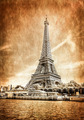 View of Eiffel tower in vintage filtered and textured style - PhotoDune Item for Sale