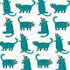 Cartoon Monster Dogs Seamless Pattern - GraphicRiver Item for Sale