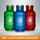 Gas Container Mockup - GraphicRiver Item for Sale