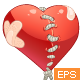 Patched Broken Heart  - GraphicRiver Item for Sale
