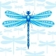 Dragonfly Seamless Pattern - GraphicRiver Item for Sale
