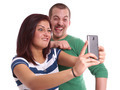 young couple taking selfie - PhotoDune Item for Sale