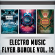Electro Music Flyer Bundle Vol.12 - GraphicRiver Item for Sale