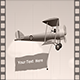 Retro Biplane Message - ActiveDen Item for Sale