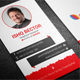 Vertical Professional Business Card - GraphicRiver Item for Sale