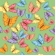Butterflies Seamless Texture - GraphicRiver Item for Sale