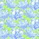 Pattern with Field of Peony Flowers - GraphicRiver Item for Sale