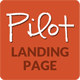 Pilot - Elegant Responsive Landing Page Template - ThemeForest Item for Sale
