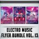 Electro Music Flyer Bundle Vol.13 - GraphicRiver Item for Sale