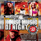 House Music DJ Night Flyer - GraphicRiver Item for Sale