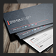 Sleek Business Card Template  - GraphicRiver Item for Sale