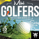 Golfer Event Flyer - GraphicRiver Item for Sale
