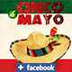 5 de Mayo Facebook Cover Templat - GraphicRiver Item for Sale
