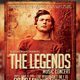 The Legend Concert Music Flyer - GraphicRiver Item for Sale