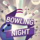 Bowling Nights Flyer Template V2 - GraphicRiver Item for Sale