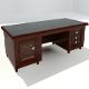 Marble Writing Desk - 3DOcean Item for Sale