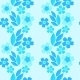 Forget-Me-Not Seamless Pattern - GraphicRiver Item for Sale