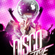 Disco Time Flyer - GraphicRiver Item for Sale