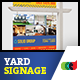 Modern Real Estate Yard Signage 5 + Riders - GraphicRiver Item for Sale