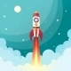 Space Rocket Print - GraphicRiver Item for Sale