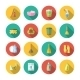 Cleaning Icons Flat Set - GraphicRiver Item for Sale