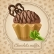 Chocolate Muffin Poster - GraphicRiver Item for Sale