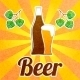Beer Bottle Poster - GraphicRiver Item for Sale