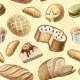 Pastry Seamless Pattern - GraphicRiver Item for Sale
