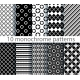 Ten Seamless Monochrome Pattern - GraphicRiver Item for Sale