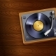 Vinyl Record Player - GraphicRiver Item for Sale