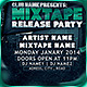 Mixtape Release Party Flyer