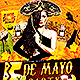 Cinco de Mayo Flyer Template PSD V4 - GraphicRiver Item for Sale