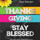 Happy Thanks Giving Flyer - GraphicRiver Item for Sale