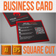 Corporate Square Business Card - GraphicRiver Item for Sale