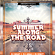 Summer Along The Road Music Flyer - GraphicRiver Item for Sale
