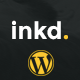 Inkd. Tattoo Studio One-Page Wordpress Theme