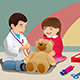 Kids Playing Doctor - GraphicRiver Item for Sale