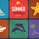 Summer Background/Card - GraphicRiver Item for Sale